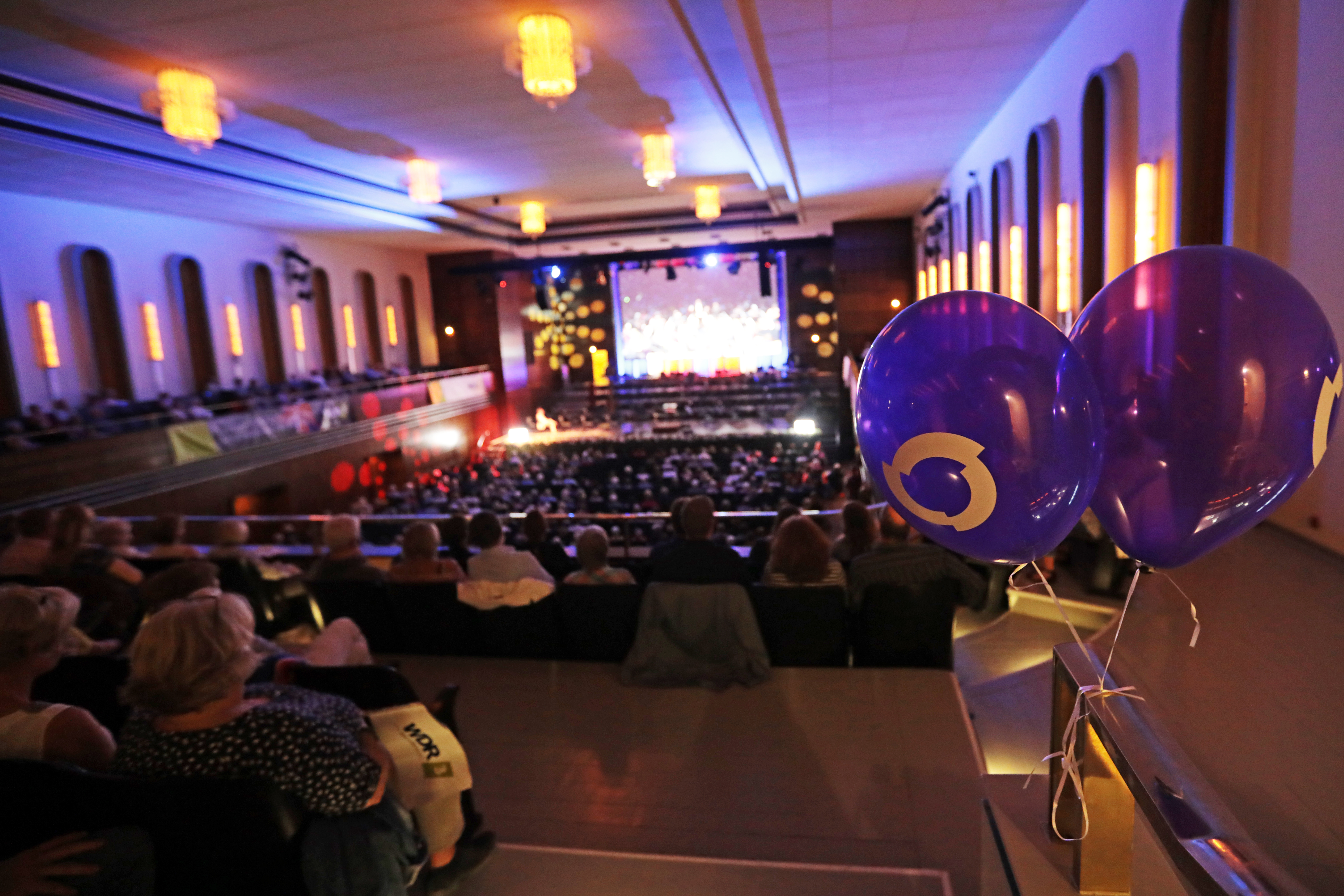 Live-WDR 3-Konzert // Public Viewing der BBC Last Night of the Proms